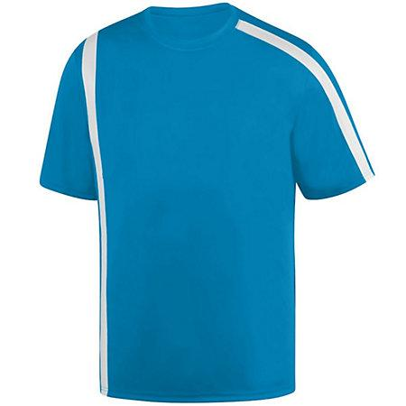 Youth Attacking Third Jersey Power Blue/white Single Soccer & Shorts