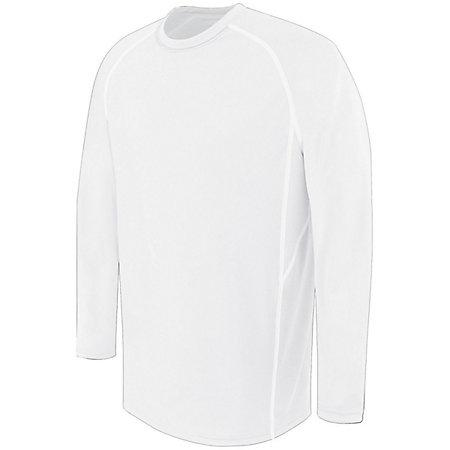 Youth Long Sleeve Evolution White/white/white Single Soccer Jersey & Shorts