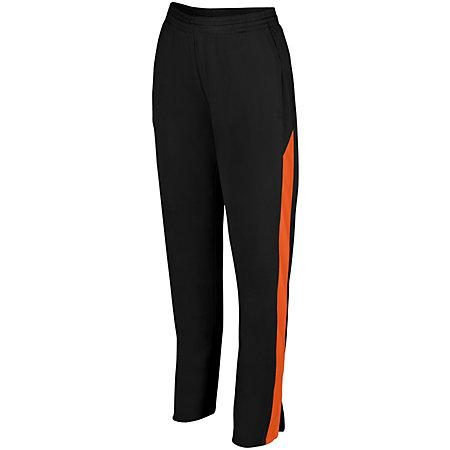 Ladies Medalist Pant 2.0 Black/orange Softball