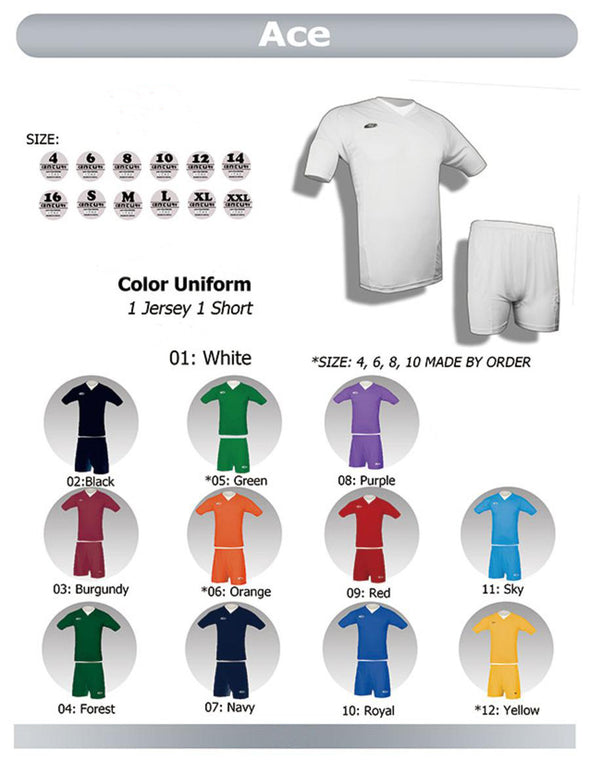 Ace Uniform Set