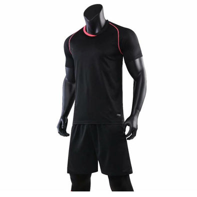 Black 193 Adult Soccer Uniforms