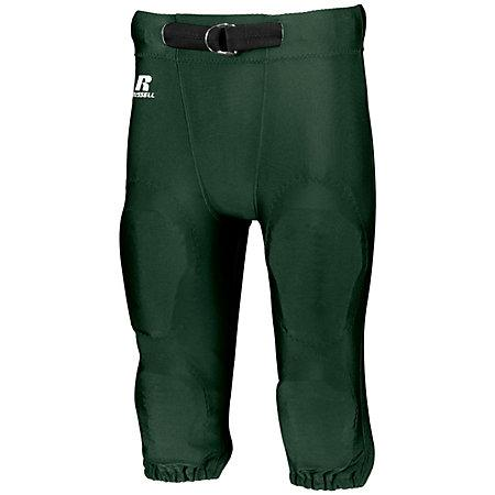 Youth Deluxe Game Pant Dark Green Football