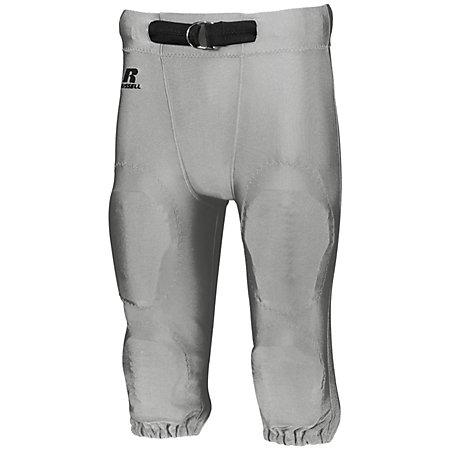 Youth Deluxe Game Pant Gridiron Silver Football