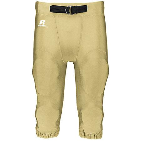 Youth Deluxe Game Pant Gt Gold Football