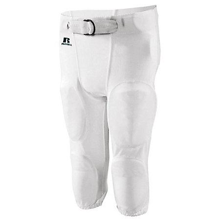 Practice Pant White Adult Football