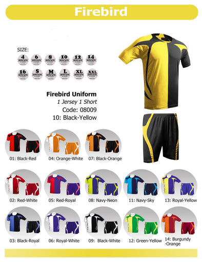 Firebird Uniform Set