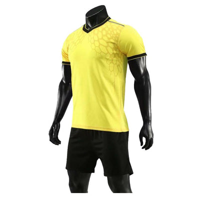 Yellow 181 Adult Soccer Uniforms