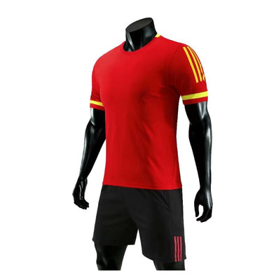 Red 182 Adult Soccer Uniforms