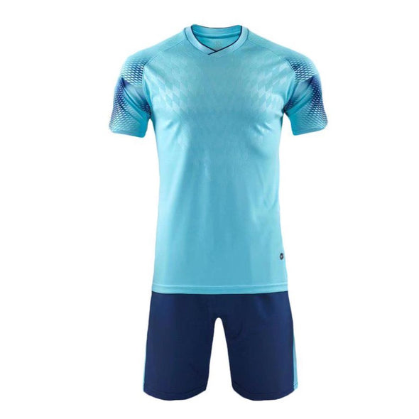 Aqua Blue 199 Adult Soccer Uniforms