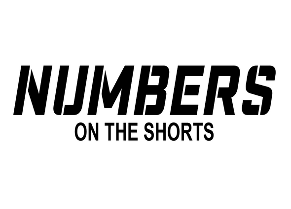 Numbers On The Shorts