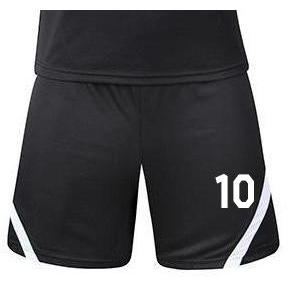 Numbers On Shorts - Fc Soccer Uniforms