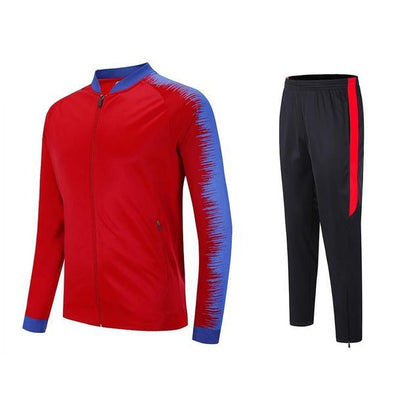 Red J-104 Jacket And Pants