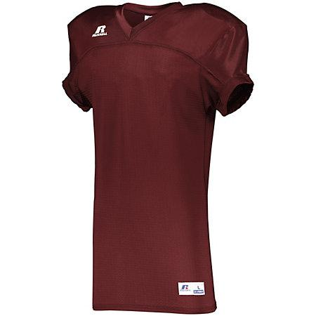 Stretch Mesh Game Jersey Cardinal Adult Football