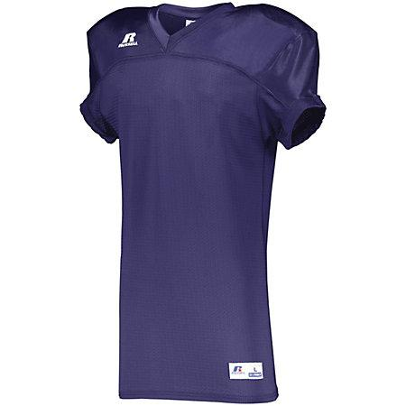 Stretch Mesh Game Jersey Purple Adult Football