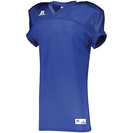 Stretch Mesh Game Jersey Royal Adult Football