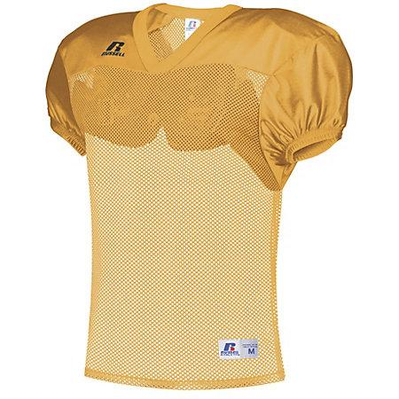 Stock Practice Jersey Gold Adult Football