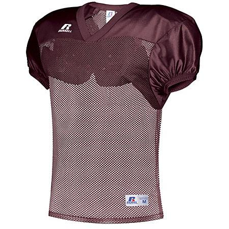 Youth Stock Practice Jersey Maroon Football