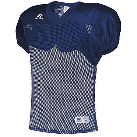 Stock Practice Jersey Navy Adult Football