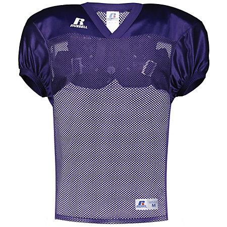 Youth Stock Practice Jersey Purple Football