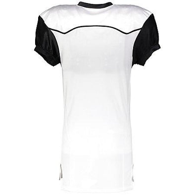 Color Block Game Jersey (Away) White/black Adult Football