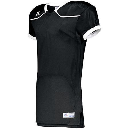 Color Block Game Jersey (Home) Black/white Adult Football