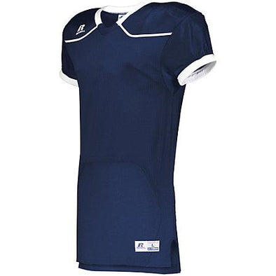 Color Block Game Jersey (Home) Navy/white Adult Football