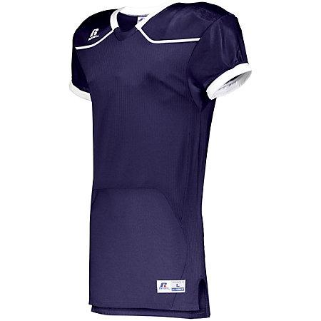 Color Block Game Jersey (Home) Purple/white Adult Football