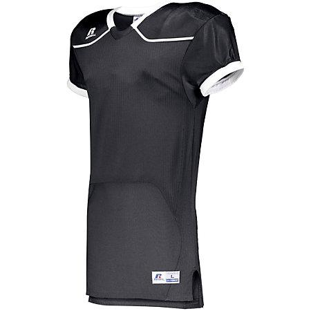 Color Block Game Jersey (Home) Stealth/white Adult Football