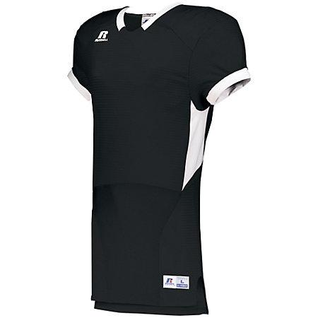 Color Block Game Jersey Black/white Adult Football