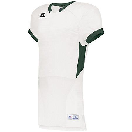 Color Block Game Jersey White/navy Adult Football