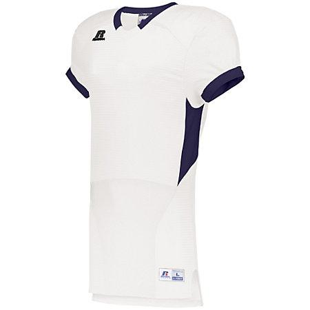 Color Block Game Jersey White/purple Adult Football