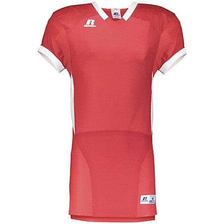 Color Block Game Jersey True Red/white Adult Football