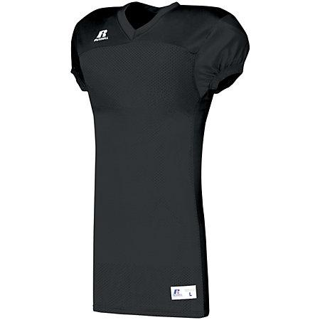 Solid Jersey With Side Inserts Stealth Adult Football