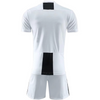Turin White Ss Adult Soccer Uniforms