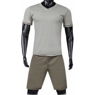 Turin Grey Youth - Fc Soccer Uniforms
