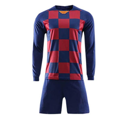Catalan Navy Ls Adult Soccer Uniforms