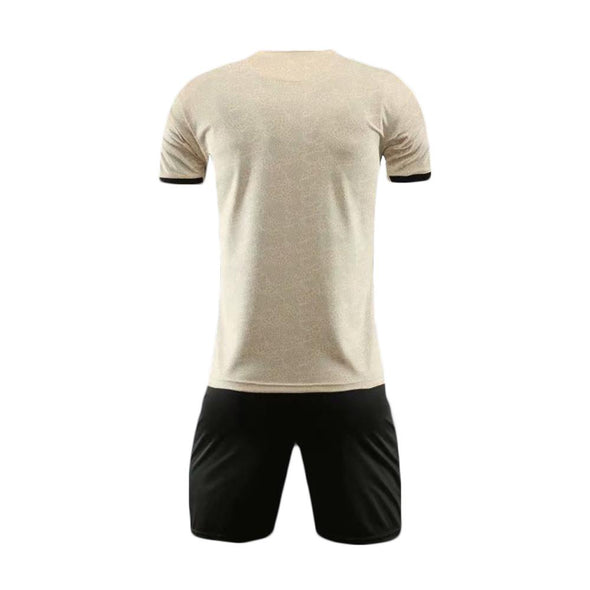 Old Trafford Beige Youth Ss Soccer Uniforms