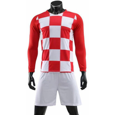 The Checkered Ones LS - Fc Soccer Uniforms