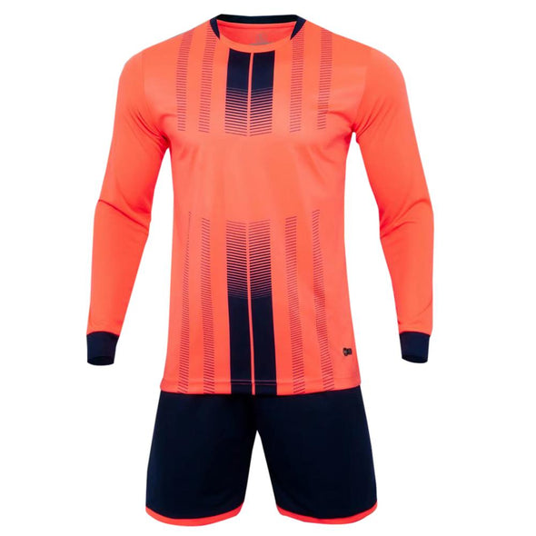 Orange 198 Ls Adult Soccer Uniforms