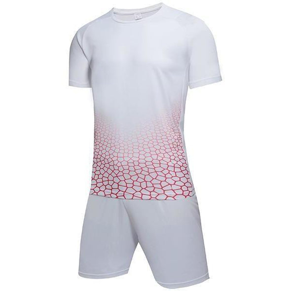 White 144 Adult Soccer Uniforms