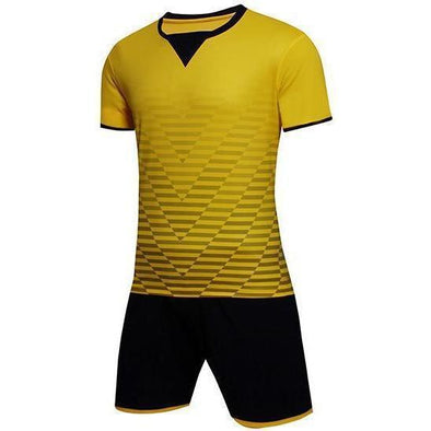 Yellow 138 Adult Soccer Uniforms