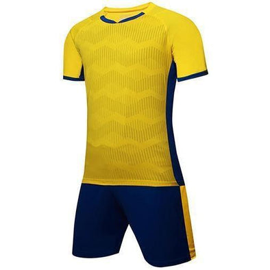 Yellow 143 Adult Soccer Uniforms