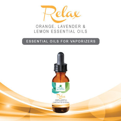 RELAX - Essential Oils For Vaporizers