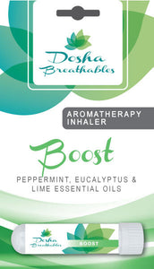 BOOST Aromatherapy Inhaler - Organic Essential Oil Inhaler