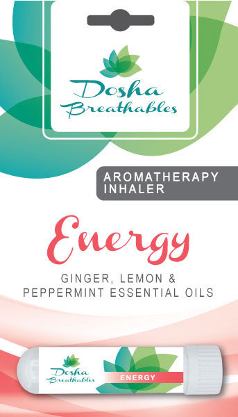 ENERGY Aromatherapy Inhaler - Organic Essential Oil Inhaler