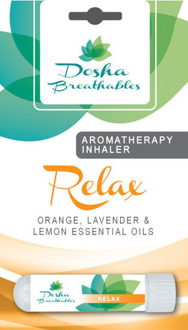RELAX Aromatherapy Inhaler - Organic Essential Oil Inhaler