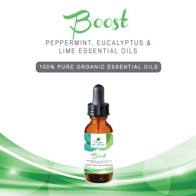 BOOST - 100% Pure Organic Essential Oils