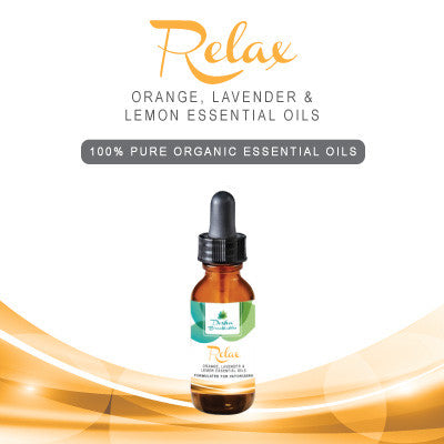 RELAX - 100% Pure Organic Essential Oils