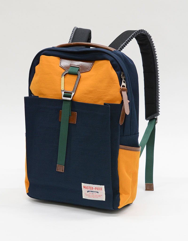 Master-Piece - Navy Mix Link Backpack