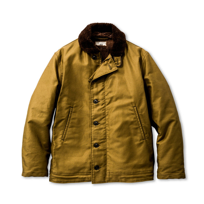 The Real Mccoy's - N-1 Khaki Deck Jacket